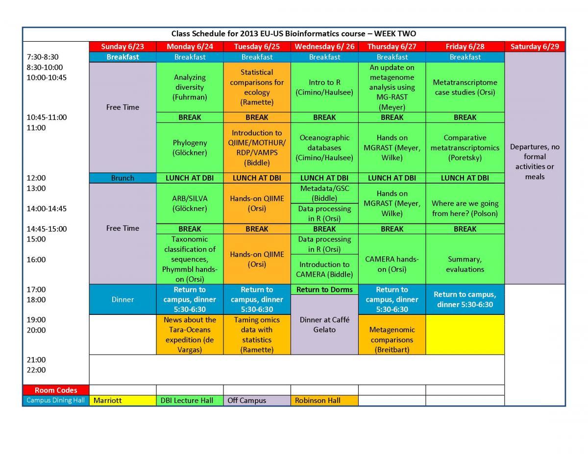 eu us training 2013 agenda